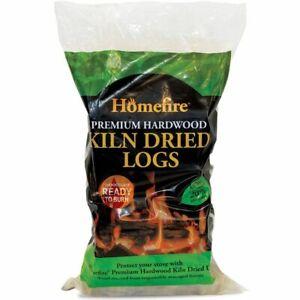 Homefire Premium Kiln Dried Hardwood Fire Logs Open Fire Pit Firewood Log Burner