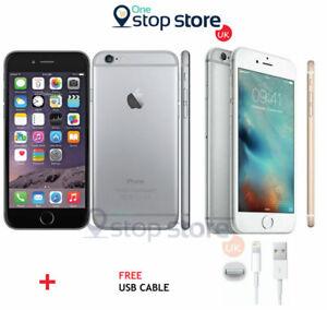 Apple iPhone 6 - 16GB 32GB 64GB - iOS - 8MP Gold Silver Grey Unlocked Smartphone