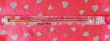 "Susan Bates #11110 10"" (25cm) Silvalume Aluminum Knitting Needles Us 0 (2mm) Nip"