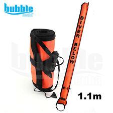Scuba Dive Safety Sausage 1.1M ( Surface Marker Buoy) - Orange