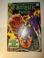Fantastic Four #78 VF-, 1968, Silver-Age Marvel,Stan Lee & Jack Kirby, BV=38