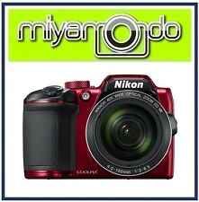 Nikon CoolPix B500 Digital Camera (Red) + 8GB + Case