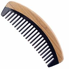 Hair Comb - Breezelike Wide Tooth Sandalwood Buffalo Horn Comb - No Static Na...
