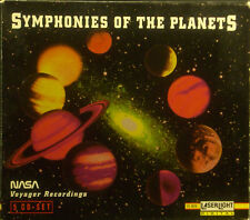 5erCD SYMPHONIES OF THE PLANETS - 1-5, Nasa Voyager Recordings