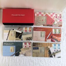 PILLAR TO POST 2003 STERLING SILVER SEMI PROOF 5 X INGOT AND STAMP SET