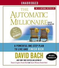 New 5 CD's The Automatic Millionaire David Bach