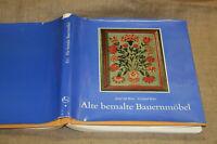 Sammlerbuch alte bemalte Bauernmöbel Möbelmalerei Holzmöbel Bauernmalerei