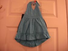 Baby Park Bench Kids Blue Top Denim Shorts 2 Piece Summer Outfit Size 2T New