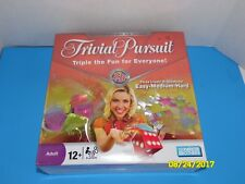 Parker Brothers TRIVIAL PURSUIT NEW SEALED 3 Levels Easy Medium Hard 12+