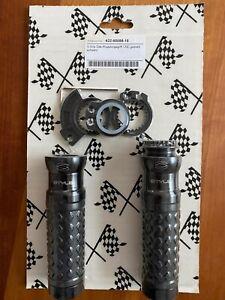 Griff Motorrad S-Grip Gas-/Kupplungsgriff CNC gedreht schwarz