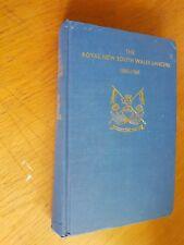 royal new south wales lancers 1885-1960 / incl narratve 1st light horse  VERNON