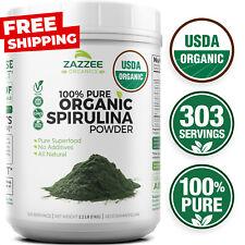 Organic Spirulina Powder 2.2 Pounds (1 KG) 100% Pure Non-GMO USDA Non-Irradiated