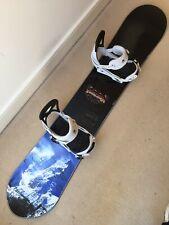 New listing Never Summer EVO Premier Factory Built Snowboard 157cm, Burton Mission Bindings