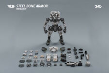 JOYTOY 51921023 1/25 Scale White STEEL BONE ARMOR W/Figure Doll Collection Toy