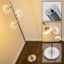 Lampadaire LED Lampe sur pied Design Variateur Éclairage de salon Chrome 142177