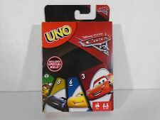 Mattel Uno Card Game - Disney Pixar Cars 3 Edition - NEW - ALK