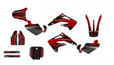 CR85 graphics for Honda 2003-2013 custom dirt bike sticker kit  #3333 Red