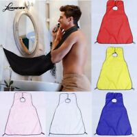 Adult Hair Apron Breathable Cape Trimmings Catcher Beauty Barbers Hairdresser