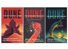Brian Herbert LEGENDS OF DUNE TRILOGY Paperbacks 1-3 Butlerian/Machine/Battle