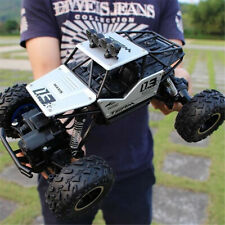 1/16 RC 28CM Monster Truck Off-Road Vehicle Remote Control Crawler Car Kid Toy