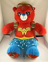 Wonder Women Build A Bear DC Comics With Clothes Rare Plush Teddy