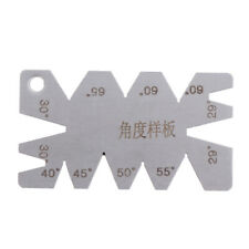 Machining threads cutting stainless steel angle arc model angles measure tool!