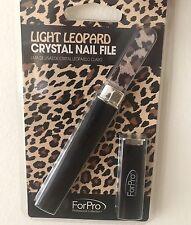 Light Leopard Crystal Nail Fine ForPro