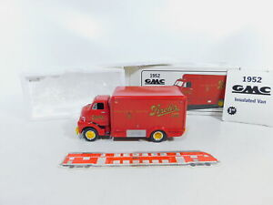 CA85-2 # First Gear 1:3 4 10-1353 Vans / Wagon GMC 1952 Stroh's Beer, Box
