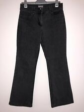 Marks And Spencer Per Una Ladies Bootcut Jeans UK Size 10R W30 L 29 Grey