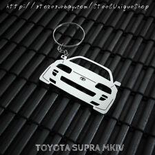 Toyota Supra MK4 Stainless Steel Keychain