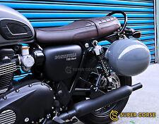 Triumph Street twin Bonneville T100 T120 Helmet Lock / Mounting Rack Helmet lock
