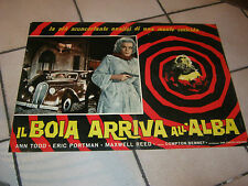 FOTOBUSTA,  Il boia arriva all'Alba , Ann Todd ,AUTO CAR