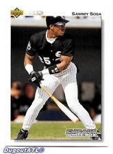 ⚾️ 1992 ~ Upper Deck #438 ~ Sammy Sosa ~ White Sox ~ Ex=5
