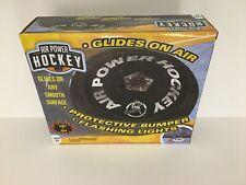 "Hockey Puck Air Power Glides on Floor Giant 7"" Flashing Lights"