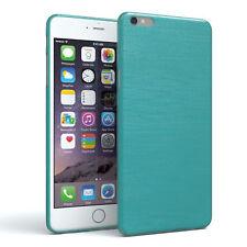 EAZY CASE iPhone 6 Plus iPhone 6S Plus Hülle Silikon Schutzhülle Cover Brushed