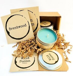 Wild Susan Natural Soy Scented Candle Small Tin