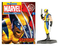 Classic Marvel Figurine Collection # 2 Wolverine + Magazine