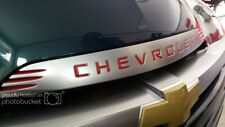 Chevrolet SSR hood trim Inserts , overlays , decals