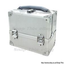 Large Space Storage Beauty Box Make up Nail Jewelry Cosmetic Vanity Case  Salon