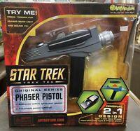 Star Trek, Trek Tek, Orginal Series Phaser Pistol
