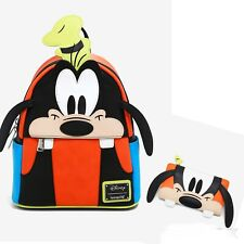 Loungefly Disney Goofy Backpack & Wallet NWT