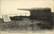 Port Arthur China Russian Japanese War - Cannon Muntai Shan c1910 Postcard