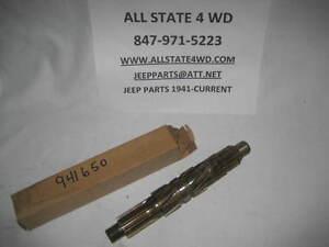 JEEP WARNER TRANS T86 MAIN SHAFT - NEW - 941650 - T86AA-2E