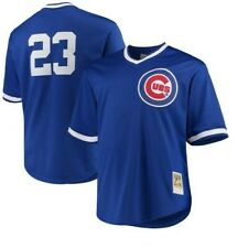 Authentic Mitchell & Ness Chicago Cubs #23 Baseball Jersey New Mens SMALL $90