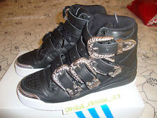2013 ADIDAS ObyO Jeremy Scott Js Forum Hi Fibbia UK 4 US 4.5 EU 36 2/3 Ossa