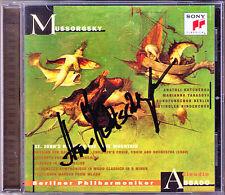 Anatoli Kotcherga SIGNED Mussorgsky St. John's Night on Bare Mountain credesse CD
