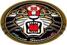 MARCO SIMONCELLI 1987 - 2011 ADESIVO