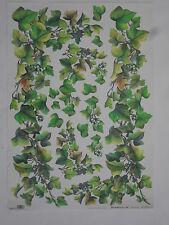 papier pour découpage technique serviette (thème: lierre) 68X48cm