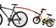 """Tandemstange Trail Gator rojo original para niños 12-20"""" nuevo ruedas"""
