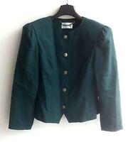 Damen Trachten Janker Jacke grün Gr. 38 v. Petressa